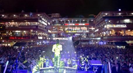 Conchita Wurst, brilla en la última jornada del Freedom Festival Maspalomas