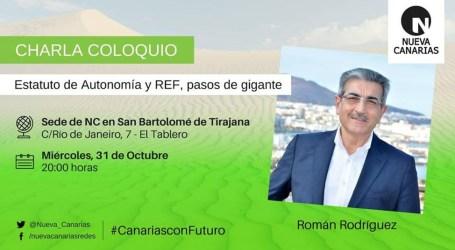 Nueva Canarias San Bartolomé de Tirajana estrena nueva sede con la visita de Román Rodríguez