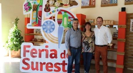 El presidente del Cabildo y los alcaldes de la Mancomunidad inauguran la XV Feria del Sureste