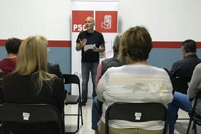 Julio Ojeda, PSOE