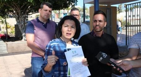 La oposición se moviliza contra la ampliación millonaria del contrato de la obra del aparcamiento de Arguineguín