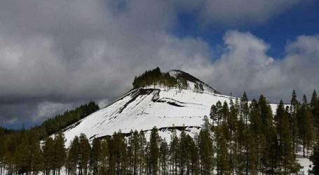 Cumbre de Gran Canaria, con nieve