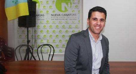 Samuel Henríquez Quintana, candidato de NC a la alcaldía de San Bartolomé de Tirajana