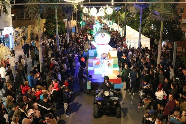 Cabalgata de Reyes de Santa Lucía 2019