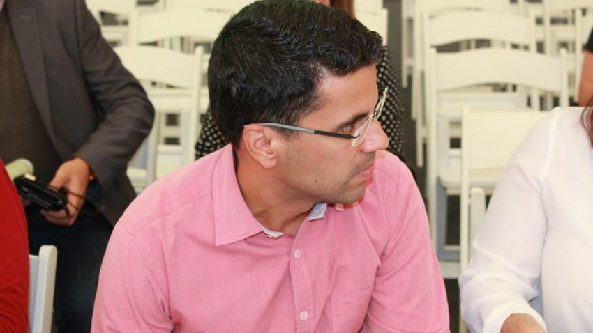 Samuel Henríquez, candidato de NC a la alcaldía