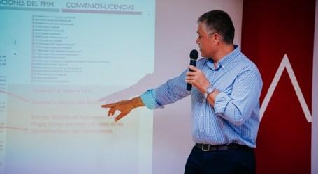El PP de Mogán se reúne con los empresarios del Centro Comercial de Puerto Rico