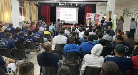 El plan educativo Eramus+ reúne en el municipio a estudiantes de Francia, Portugal, Eslovenia y Turquía