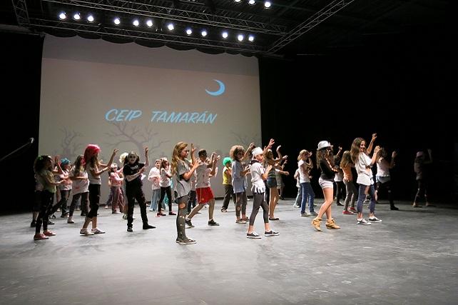 Muestra artística centros escolares de Santa Lucía