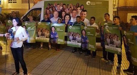 NC exige la dimisión de Onalia Bueno y que retire su candidatura a las elecciones del 26-M