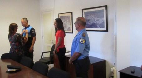 Salustiano Toledo López toma posesión como subinspector de la Policía Local de Santa Lucía