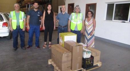 El Ayuntamiento de Santa Lucía entrega 130 kilos de comida al Banco de Alimentos de Las Palmas