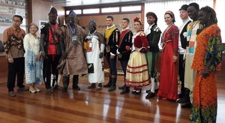 Festival Folklore de Ingenio, embajadas participantes