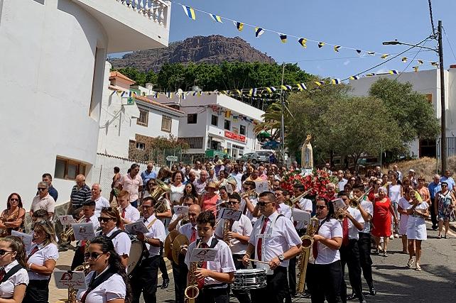 Fiestas de Veneguera 2019, procesión