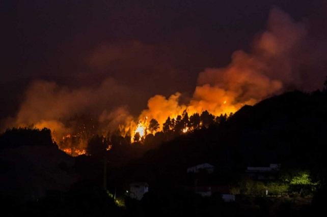 Incendio de Gran Canaria, 2º de agosto 2019