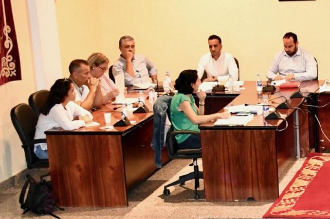 Pleno 21-06-19, oposición PP, PSOE y NC