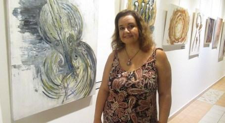 El Ateneo Municipal de Santa Lucía acoge la exposición multidisciplinar 'Mothú' de Paqui Santana