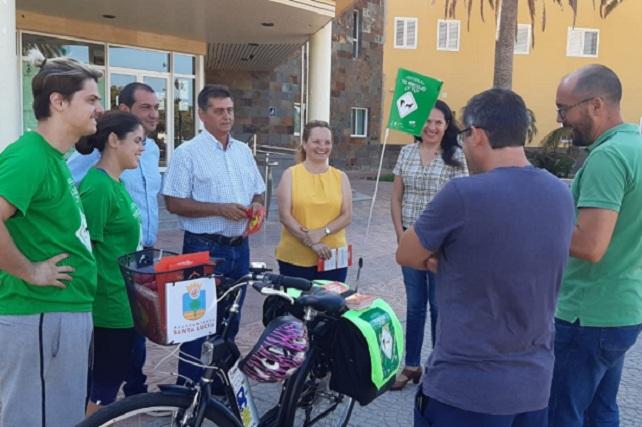 Campaña Bicican, Ayuntamiento de Santa Lucía