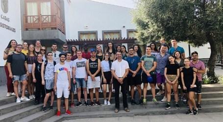 Jóvenes de Gran Canaria, Bulgaria y Croacia se forman en Santa Lucía en proyectos europeos de participación ciudadana