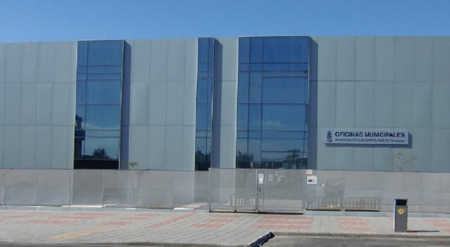 Oficinas Municipales Ayuntamiento, en Maspalomas