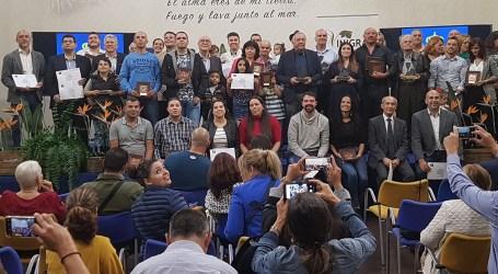 Los vinos y quesos de San Bartolomé de Tirajana volvieron a resultar premiados en los concursos del Cabildo