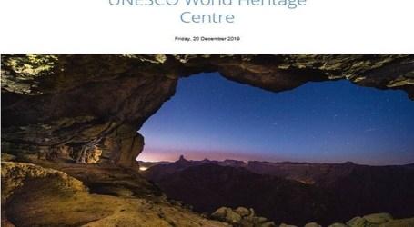 La Unesco felicita la Navidad al mundo con una imagen de la cumbre de Gran Canaria bajo un cielo estrellado