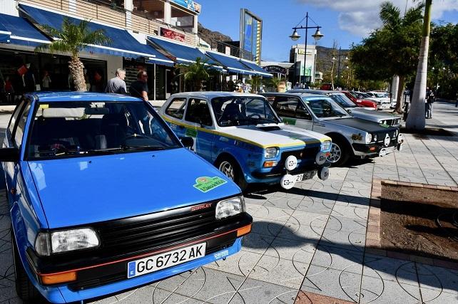 Clásica de Mogán 2020, exhibición de vehículos