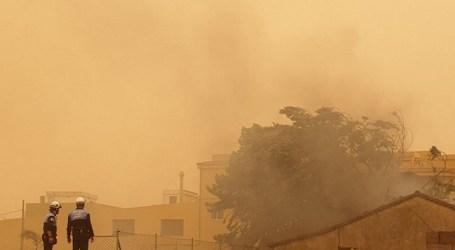 Calima, incendios y coronavirus: el apocalipsis