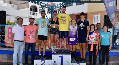 Alberto Cabrera y Davinia Mejías, ganadores de la Carrera Popular de Arguineguín 2020