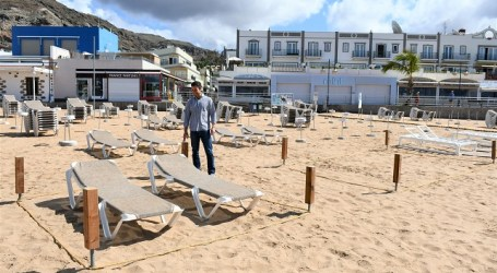 Mogán propone dividir las playas en sectores cuando se permita su uso recreativo