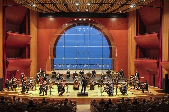 """La OFGC inauguró su temporada 2020-2021 con dos conciertos dirigidos por Chichon Tuvieron lugar el jueves 24 y el viernes 25 de septiembre en el Auditorio Alfredo Kraus, incluyeron la Obertura Coriolano y la Sinfonía nº 3 """"Heroica"""" de Beethoven"""