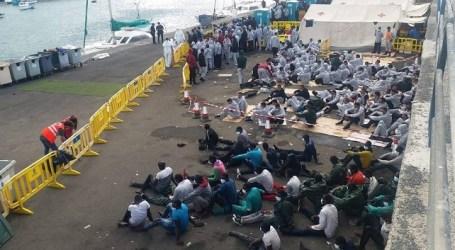 NC pide que Yla Johansson se desplace a Arguineguín para tomar conciencia de la crisis migratoria en Canarias