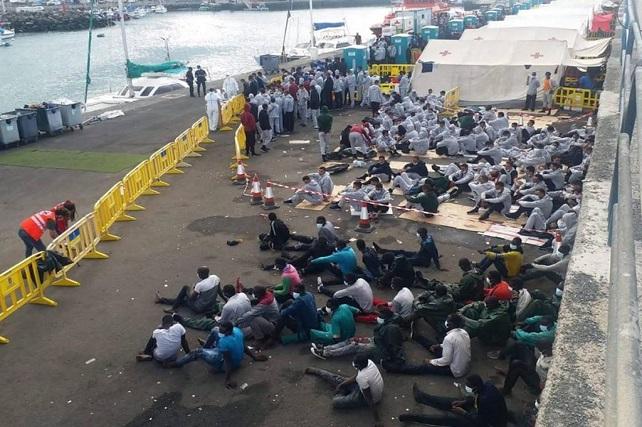 La incapacidad de un gobierno Maspalomas News ofrece a sus lectores un comunicado del grupo político en la oposición tirajanera PP-AV sobre la crisis migratoria