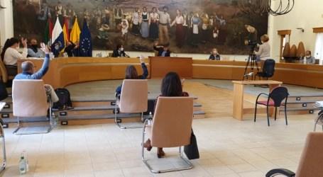El pleno de Santa Lucía deroga las tasas a las terrazas y a los puestos en mercadillos para apoyar al sector comercial