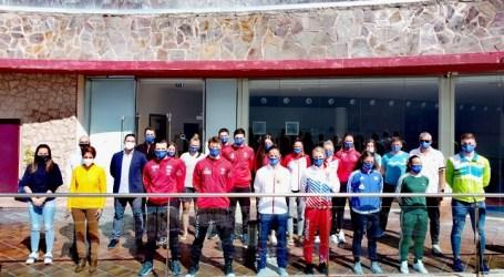 Karatecas internacionales de nivel escogen Mogán para preparar las Premier League