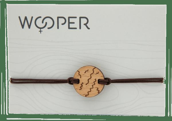 Bracelet Wooper spiruline