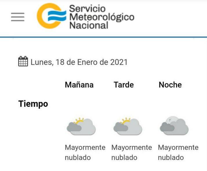 clima 2021-01-18