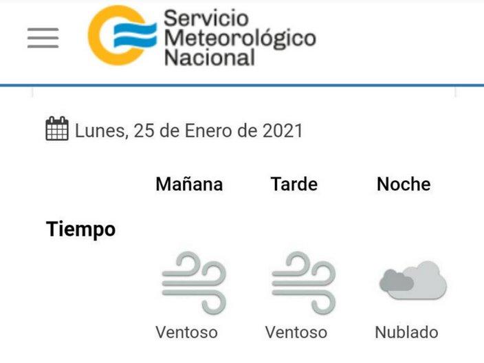 clima 2021-01-25