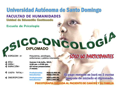 Diplomado Psicooncologia