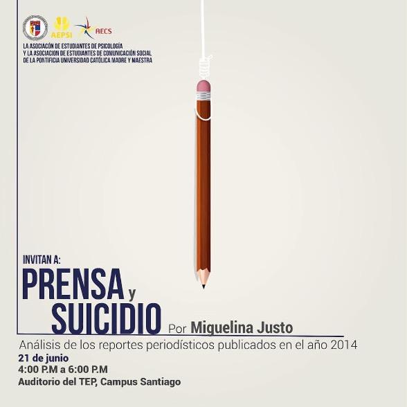 Prensa y suicidio