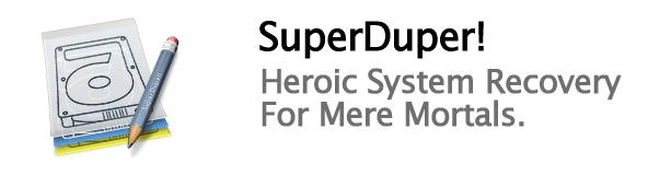 Clona tu disco duro con Superduper