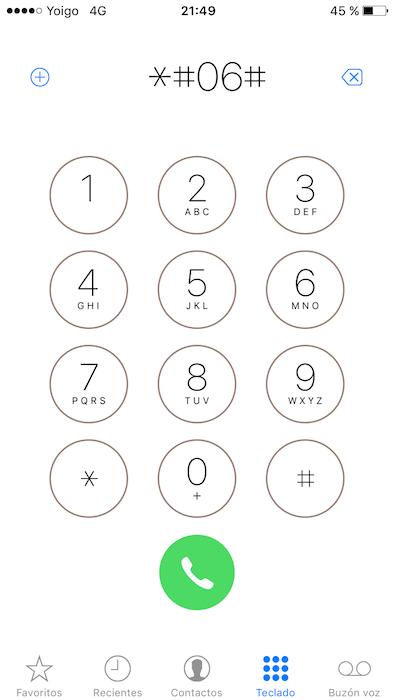 ¿Cómo saber el Número IMEI de un iPhone de Forma Sencilla?