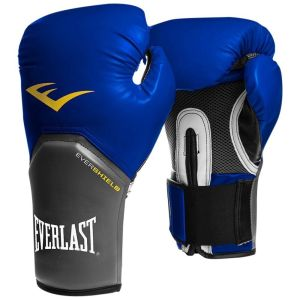 Comprar guantes boxeo Everlast pro style elite azules