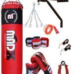 Saco boxeo madx + 10 piezas