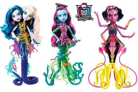 Oferta muñecas monster High Monstruitas baratas amazon