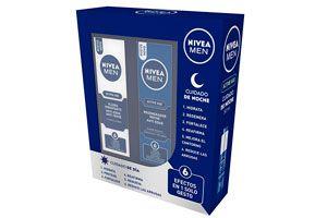 Pack de cremas Nivea Men Active día y noche baratas amazon