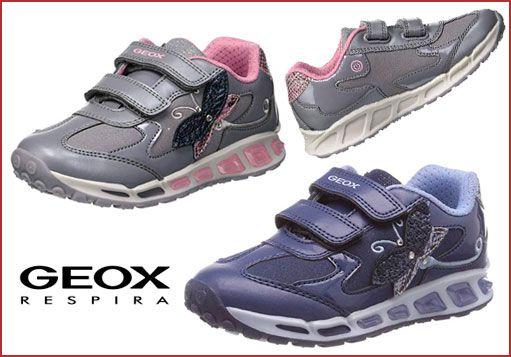 Oferta zapatillas Geox J Shuttle Gril A con luces baratas