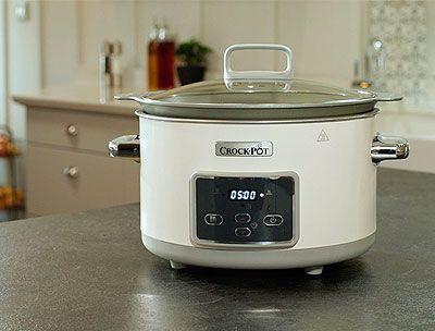 Olla de cocción lenta Slow cooker Crock pot barata Duraceramic Csc026X