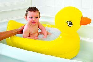 Bañera Munchkin de pato para bebés barata amazon