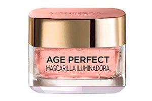 Mascarilla L'Oreal Age Perfect iluminadora barata amazon