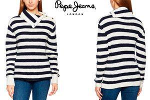 Oferta Jersey Pepe Jeans mujer Cruz barato amazon
